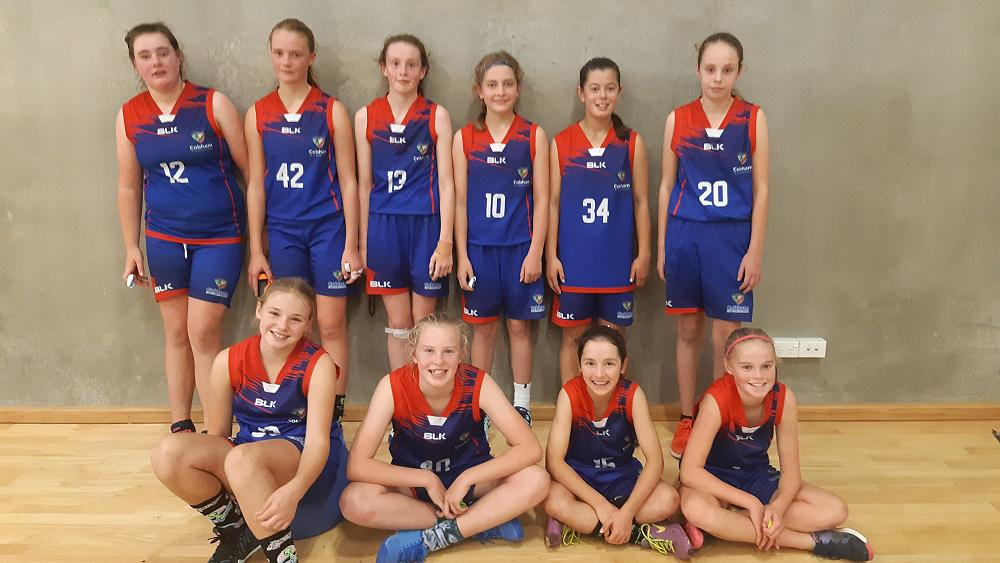 Cobham Girls A Basketball having a thrilling SIPT tournament this weekend.