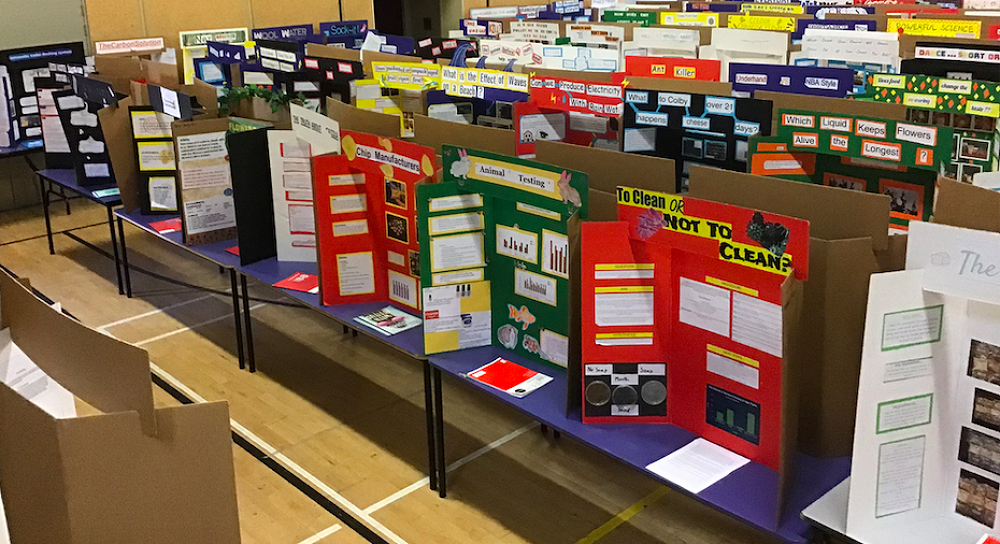 Science Fair First Prize Winners