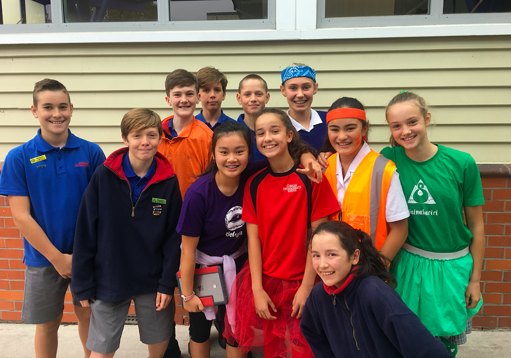 Friday 1st House Captains