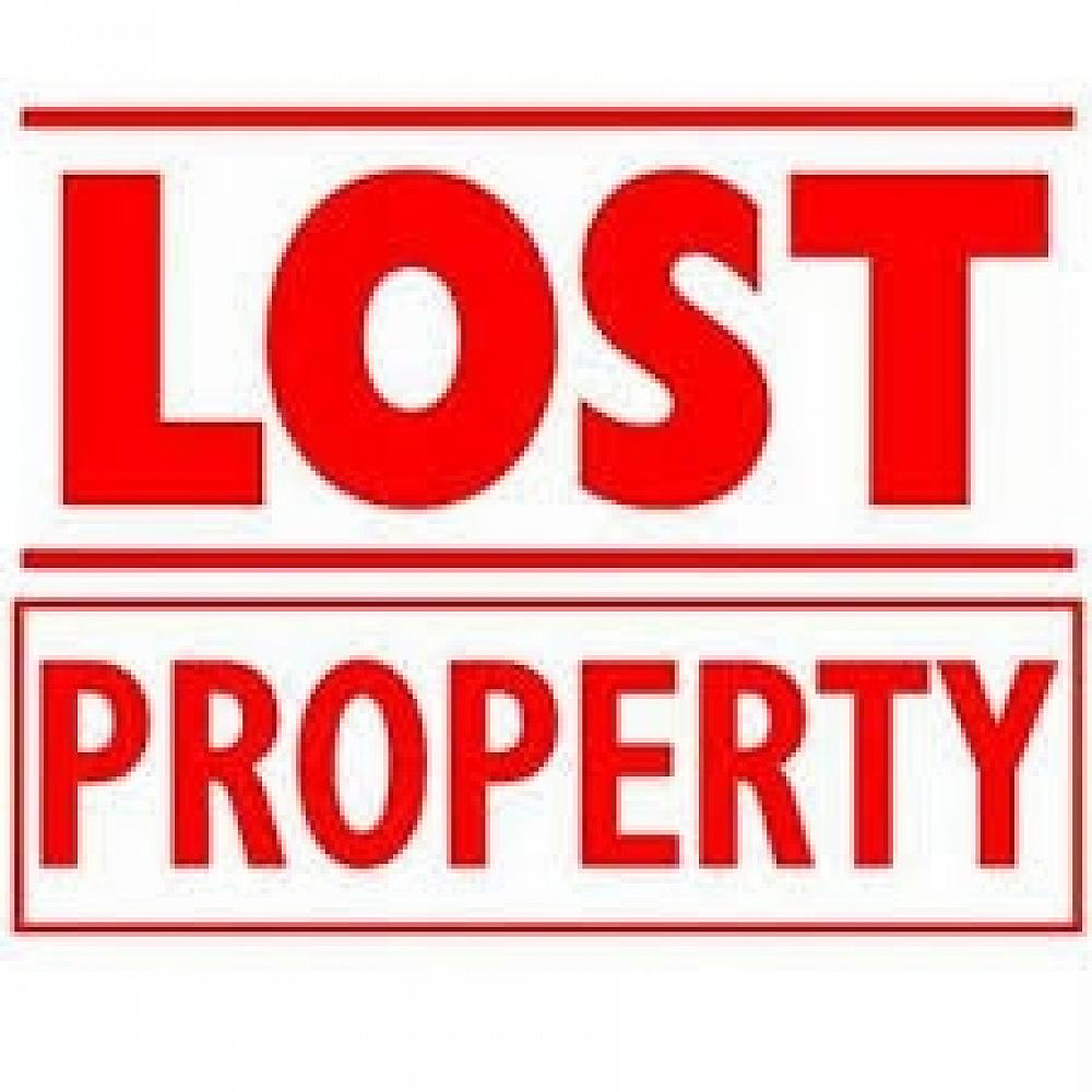 Please check the lost property in the hall foyer. Anything unclaimed by Friday will be donated!